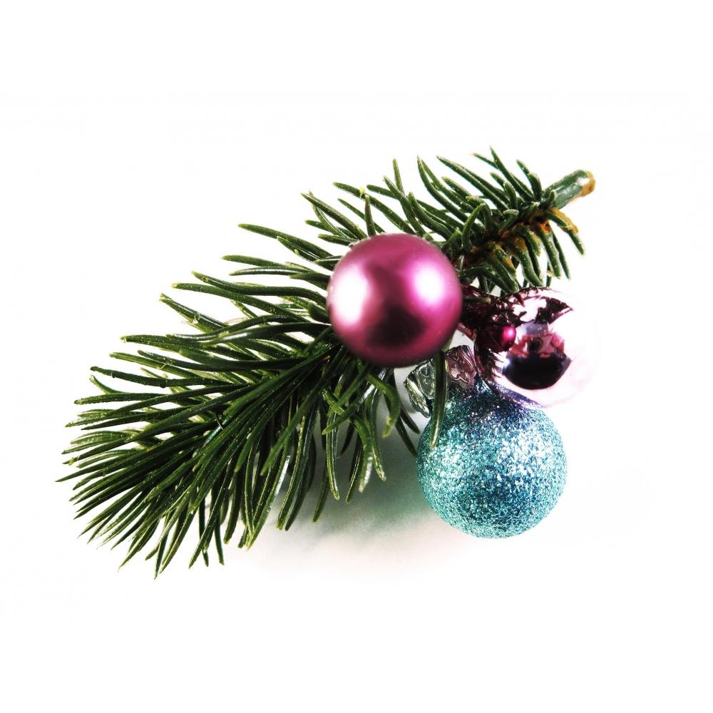 kleine gr n pink blaue weihnachts haarspange mit. Black Bedroom Furniture Sets. Home Design Ideas