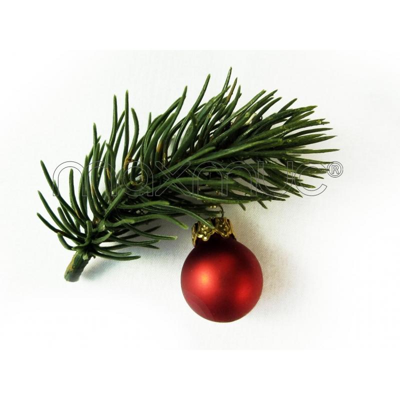 kleine weihnachts haarspange mit kleinem tannenzweig und weihnachtskugel weihnachten haarschmuck. Black Bedroom Furniture Sets. Home Design Ideas