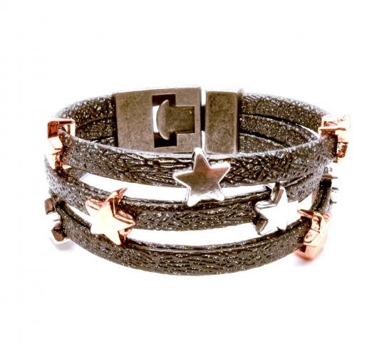 Set aus Ring, Armband und passender Haarspange