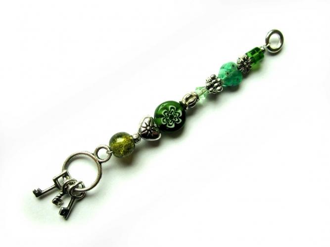 Schlüsselanhänger maxmuc Sternenschweif Schlüsselbund grün 1